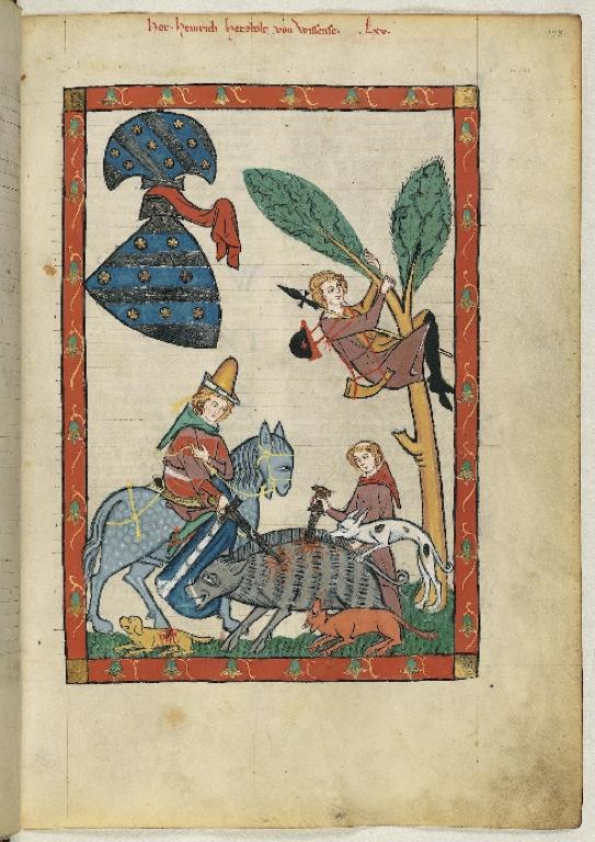© Universitätsbibliothek Heidelberg, Herr Heinrich Hetzbold von Weißensee, Cod. Pal. germ. 848, Bl. 228r [https://digi.ub.uni-heidelberg.de/diglit/cpg848/0451] - CC-BY-SA-3.0